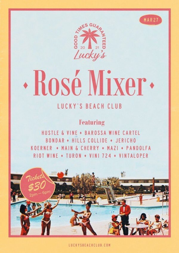 Luckys Rose Party 27th March 2021