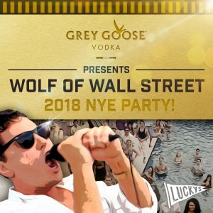 Luckys Wolf or Wall Street NYE